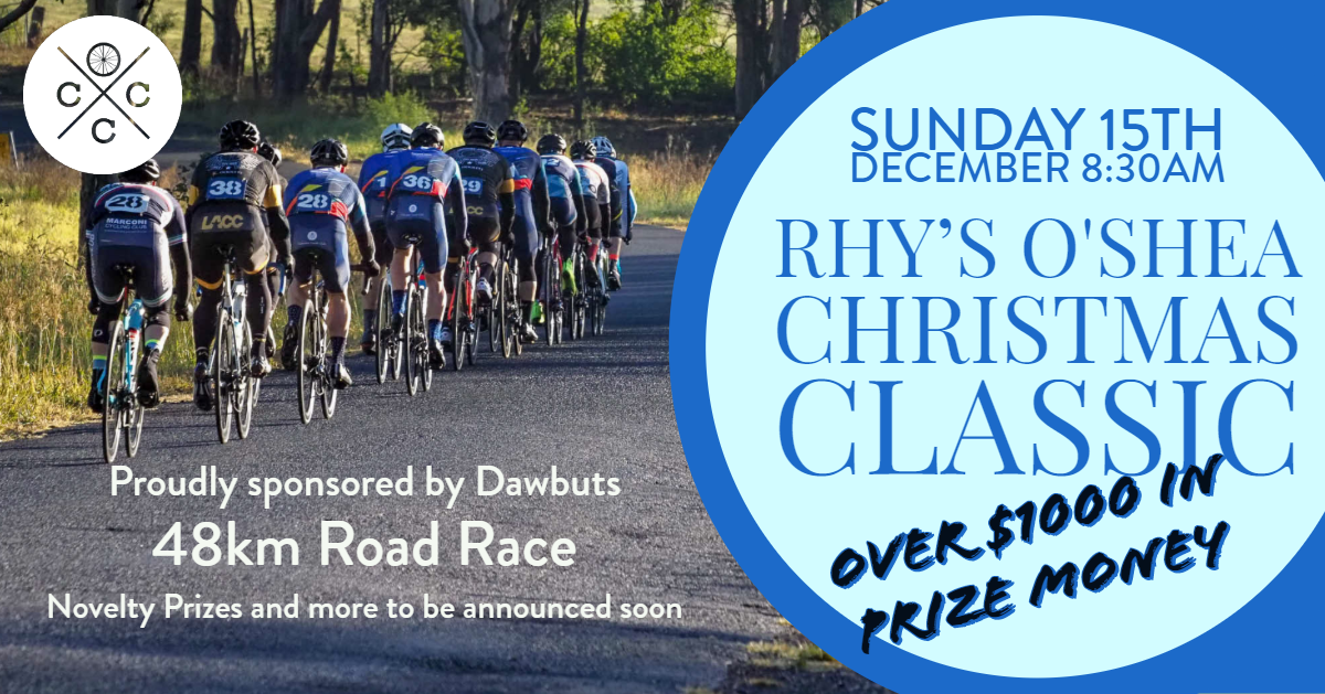 Rhy's O'Shea Christmas Classic Road Race