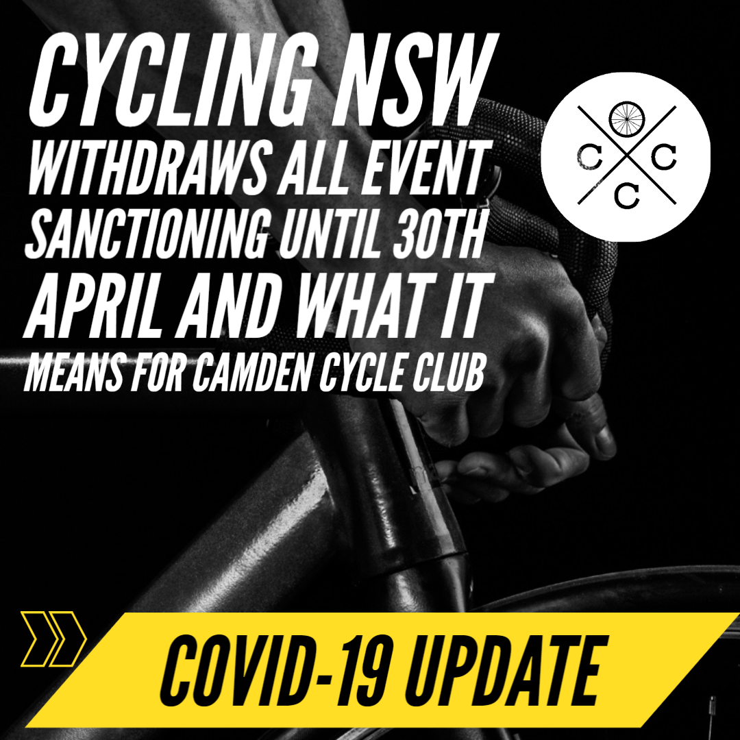 COVID-19 update cycling nsw