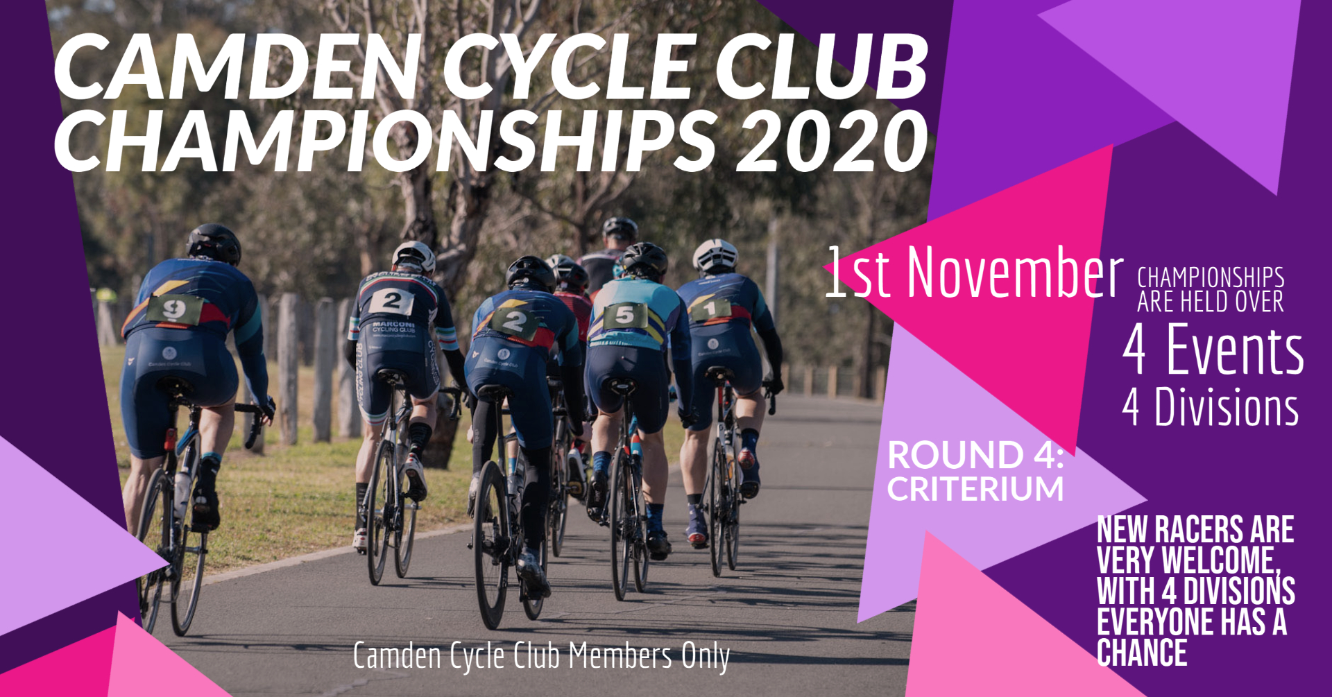 Camden Cycle Club Championships 2020 Criterium