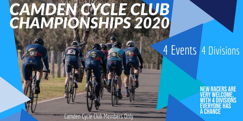 Camden Cycle Club race championships 2020