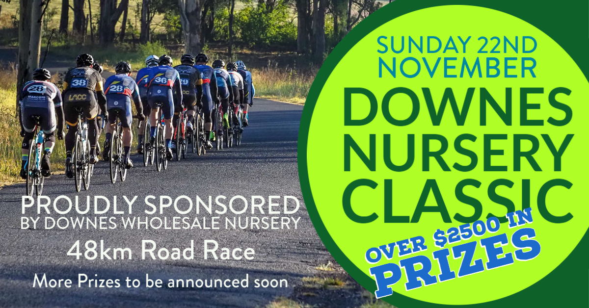 Downes Nursery Road Race 2020