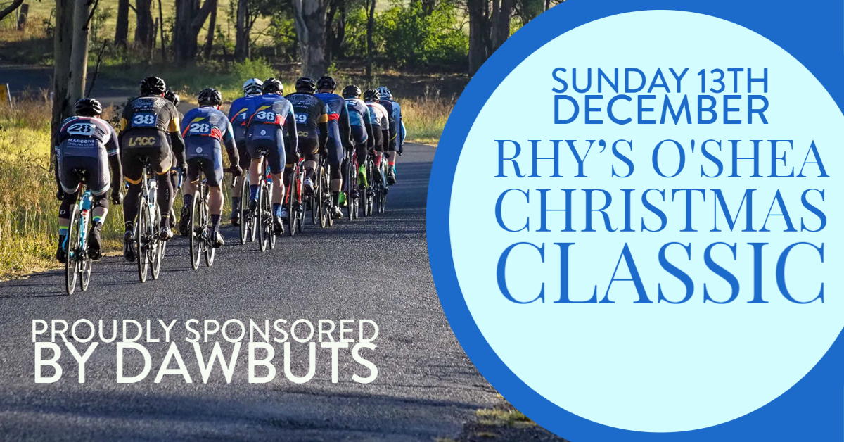 Rhys Oshea Christmas Classic Road Race