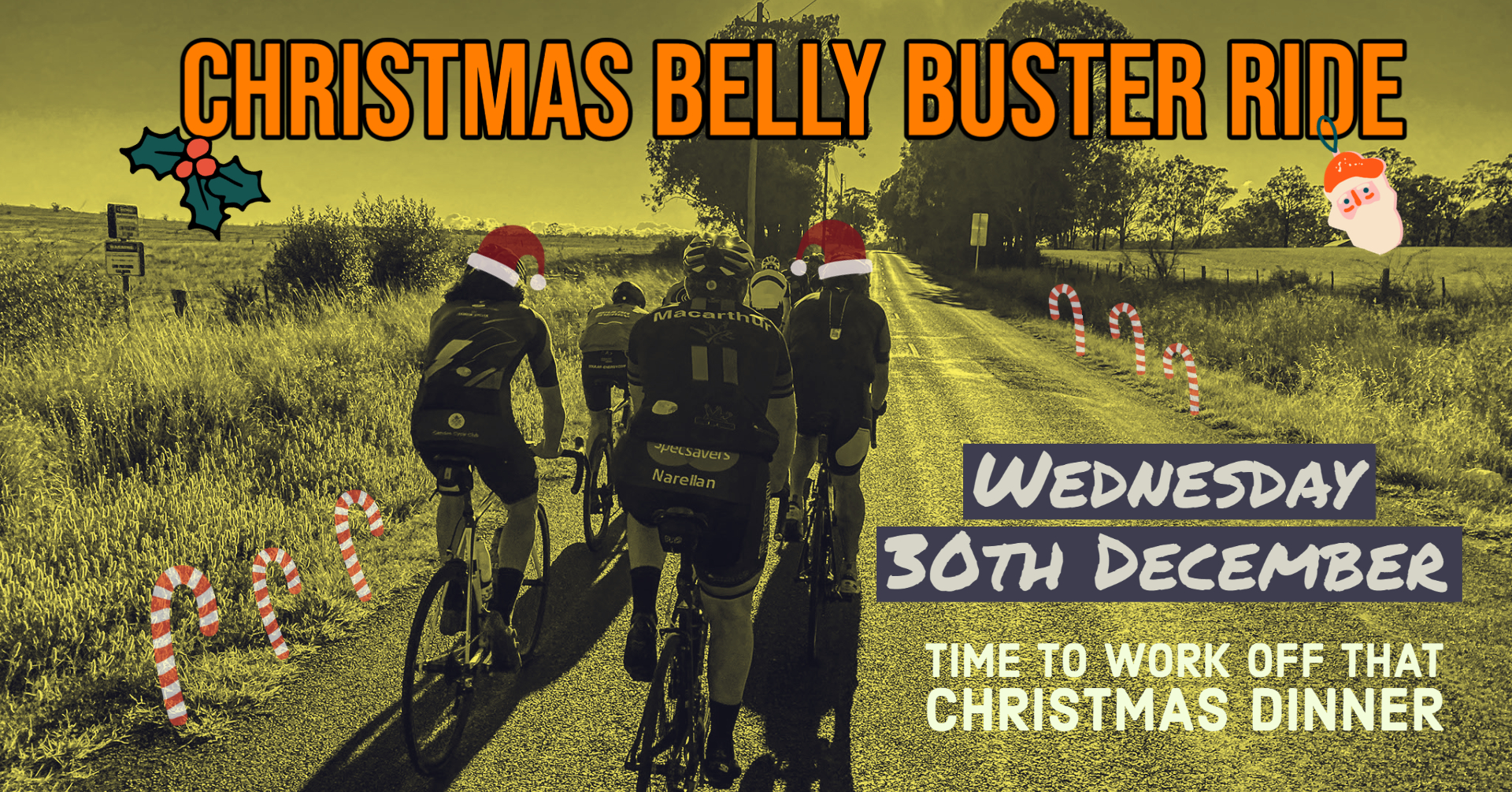 Christmas Cycling Event 2020