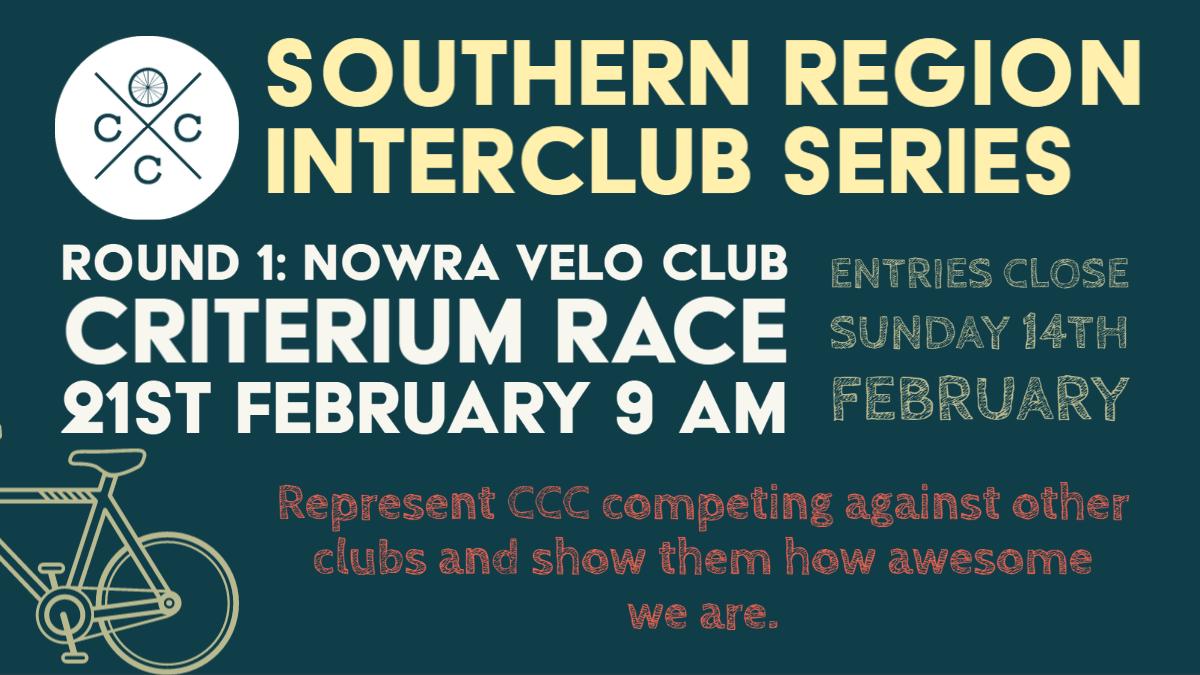 Nowra Interclub criterium 2021