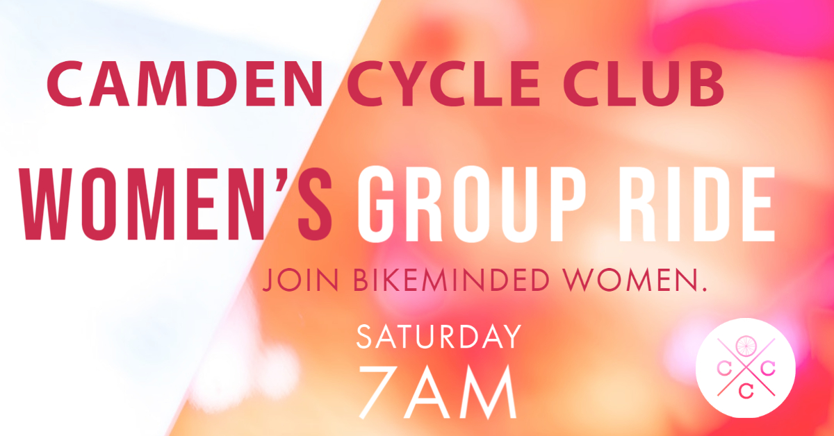 Womens cycling group ride ride