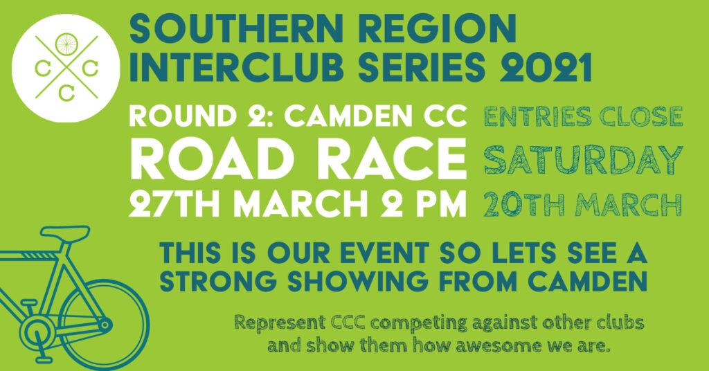 camden southern region interclub 2021