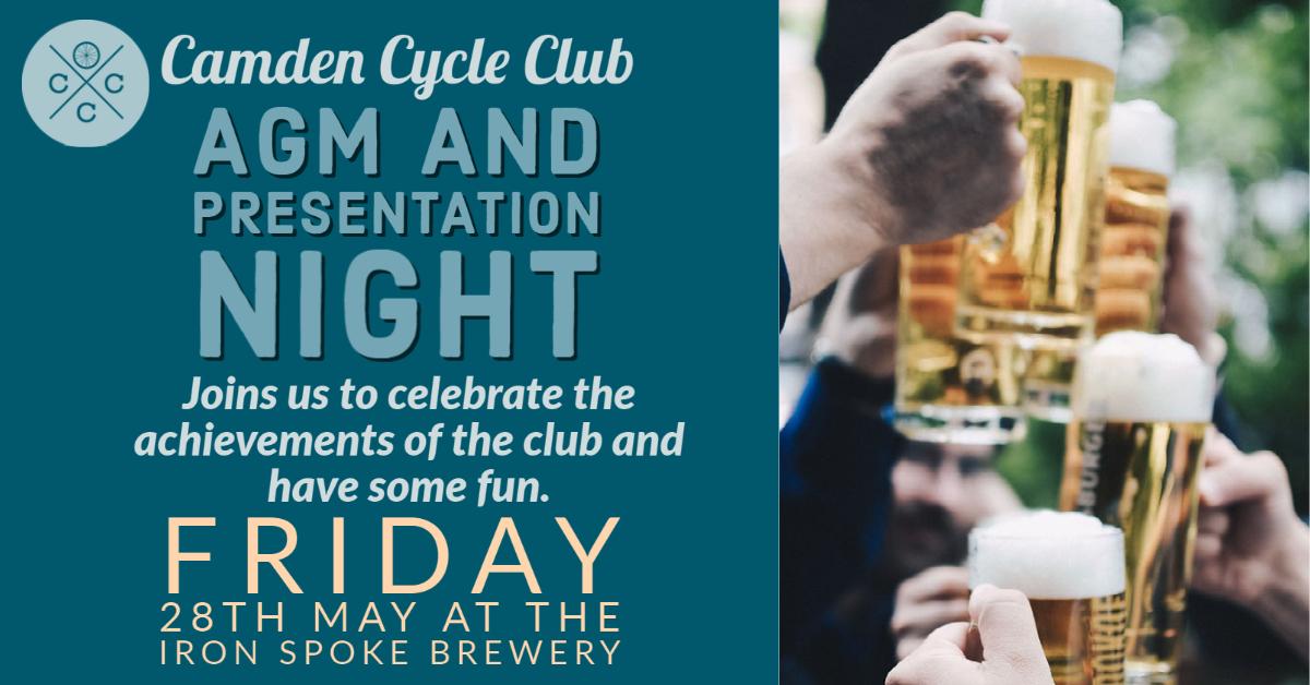 Camden Cycle Club AGM meeting
