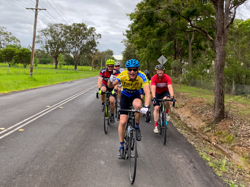 The FOBS Cycling group