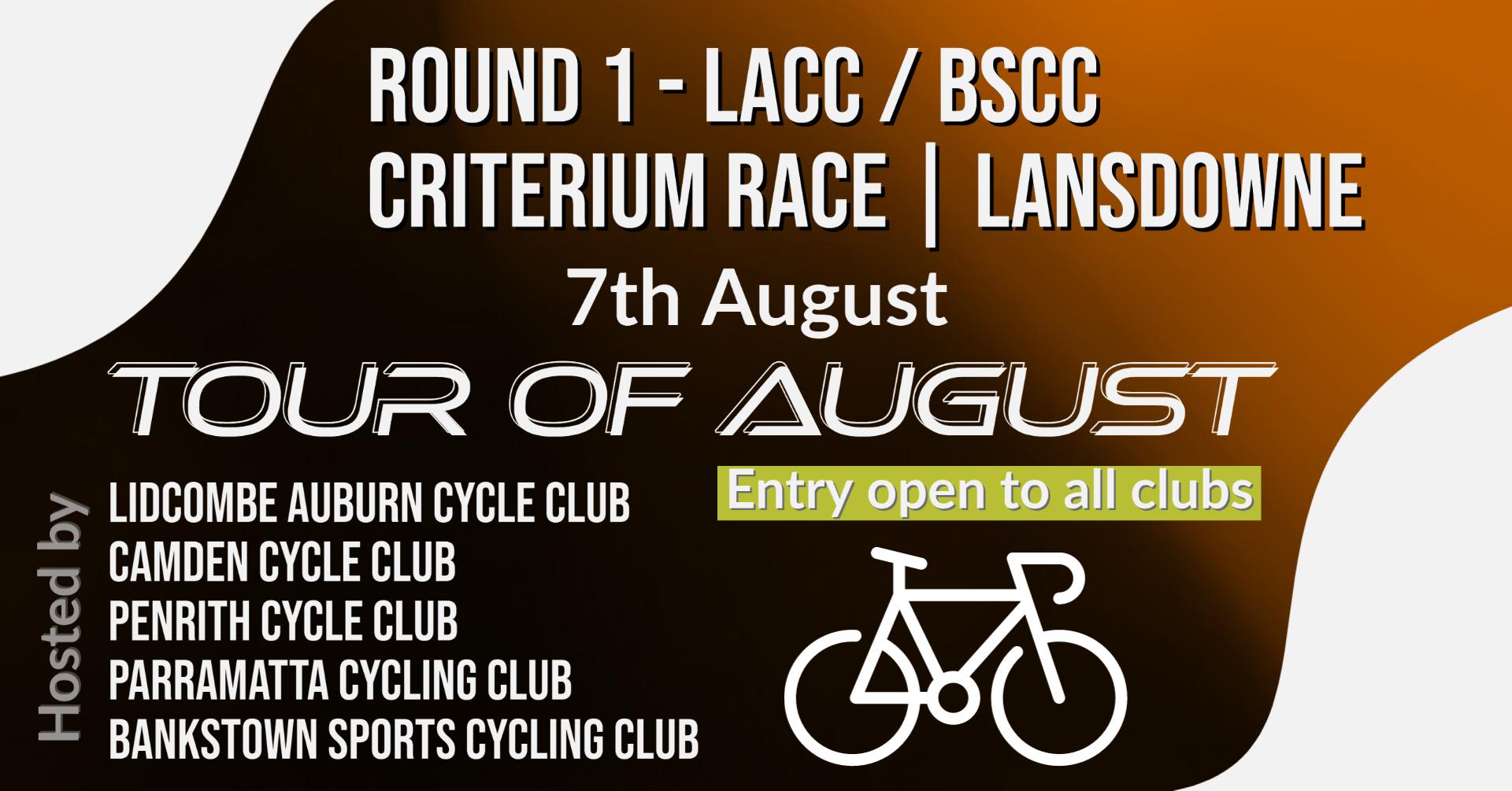Tour of August round 1 lansdowne