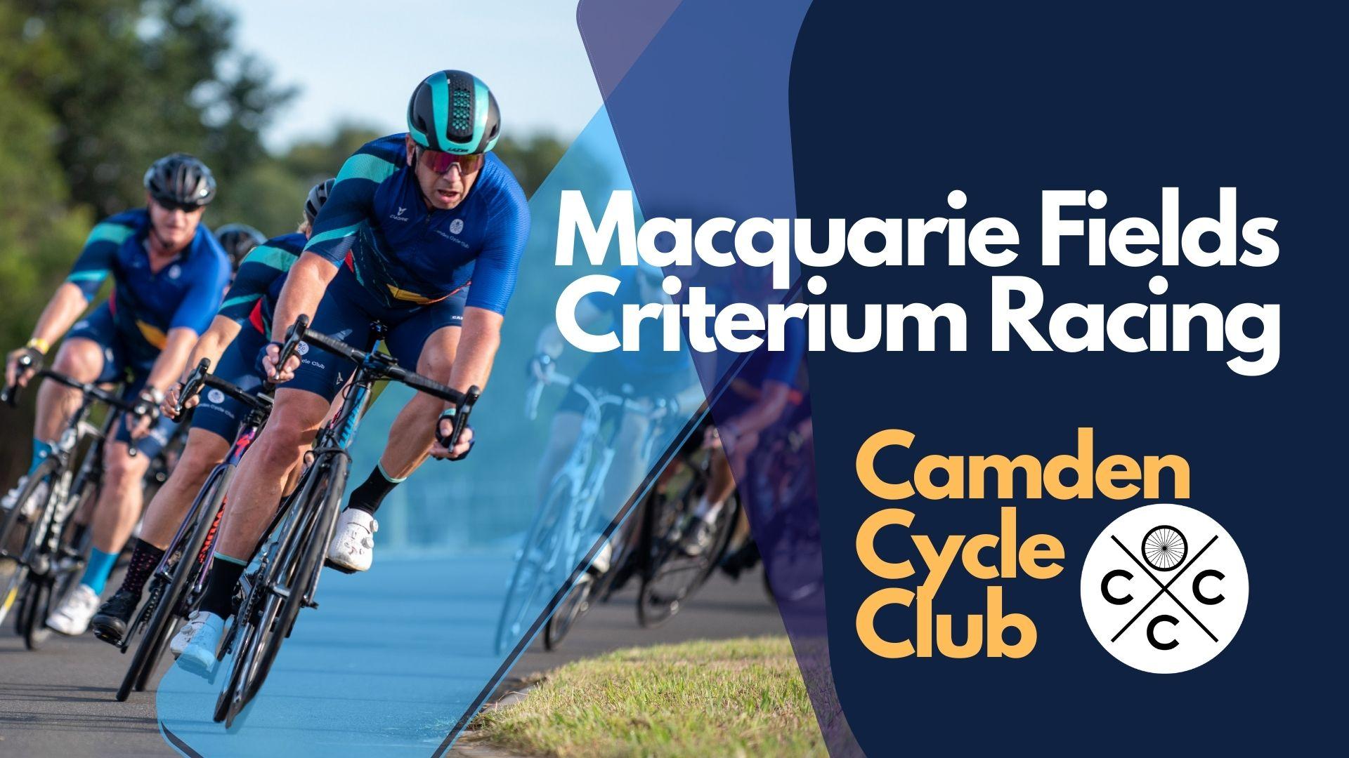 Macquarie Fields Criterium Cycling Race